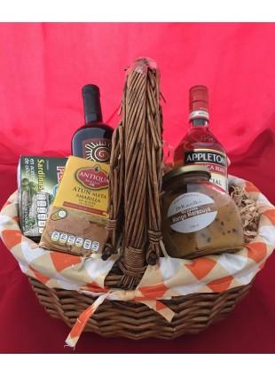 Canasta picnic forrada